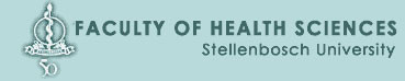 Faculty of Health Sciences, Stellenbosch University Logo